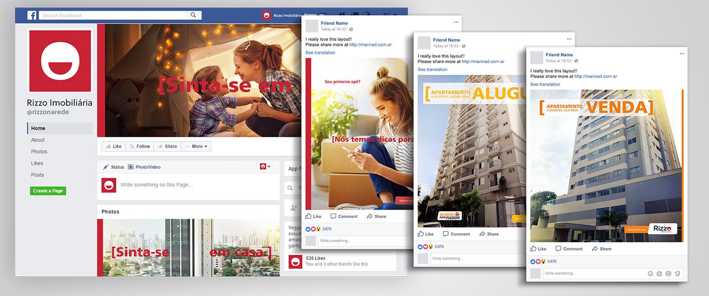 Social Media Rizzo Facebook