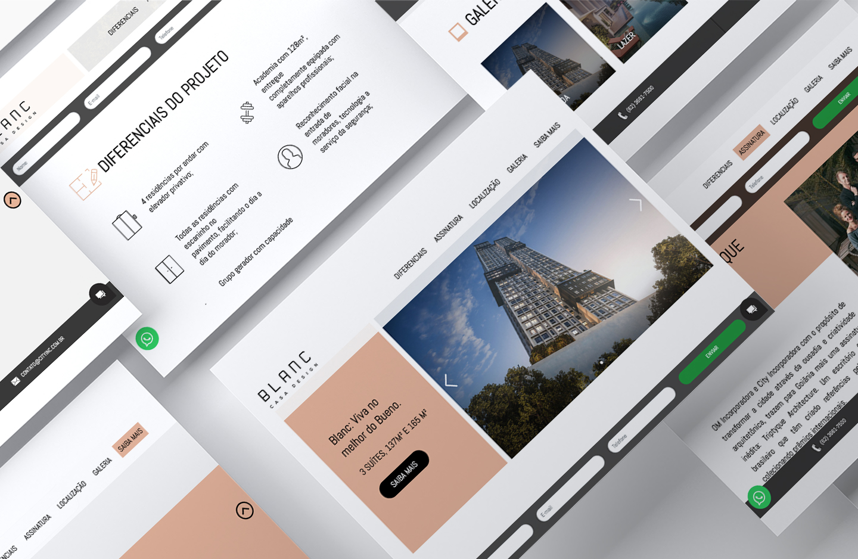 Oliveira Melo Inc. Landing Page